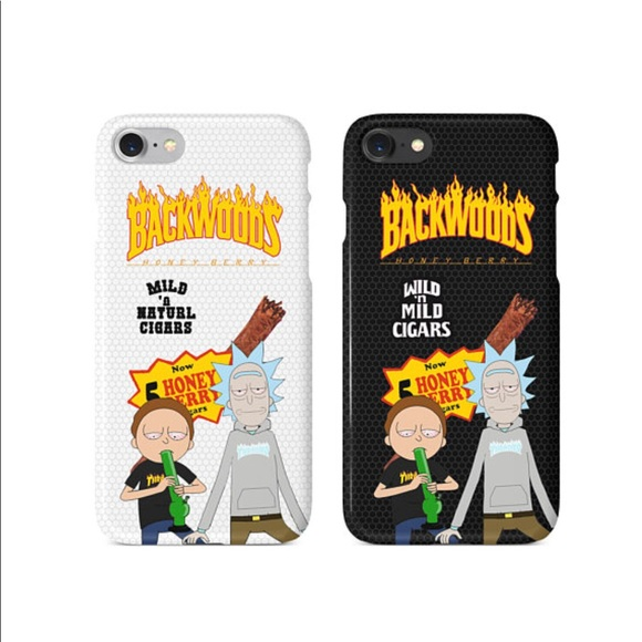 best service dca54 b4f32 Rick and Morty Thrasher iPhone Case NWT